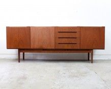 English Teak Sideboard - The Vintage Shop