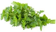 Foods high in Vitamin E #13. Parsley- An excellent spice, parsley is another great Vitamin E food. Try adding fresh parsley to salads and dishes for an extra Vitamin-E kick. Dried parsley will also provide you with this important vitamin, but the fresher the better.