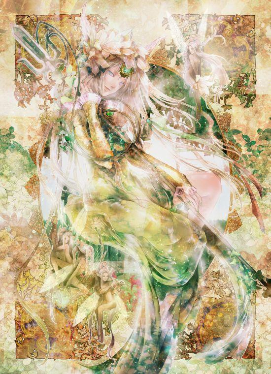 Radu, Seiken Densetsu 3, Seiken Densetsu Series, Riesz, Trident, Fairy