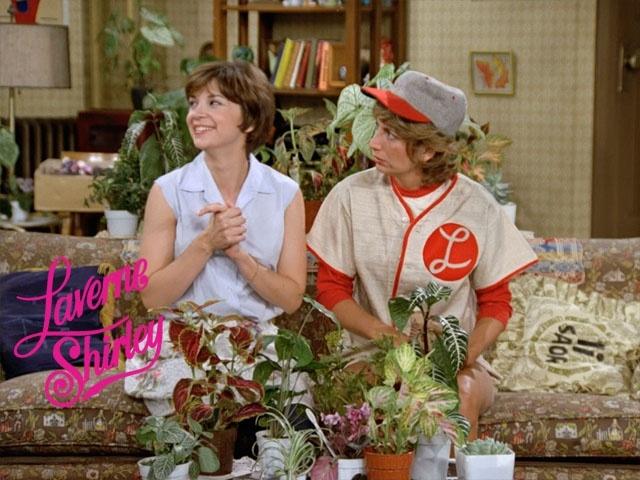 5) favorite old tv show - Laverne & Shirley