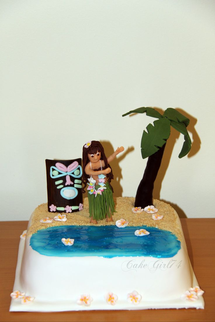 Hula Girl Cake Design : 17 Best images about Cakes - My Cakes on Pinterest ...