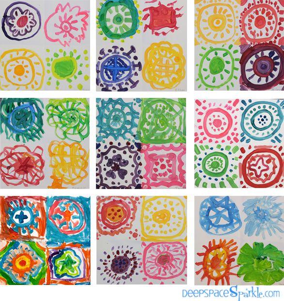 Pantone Art Lesson: Colors Lessons, Pantone Colors, Colors Mixed, Kids Crafts, Deep Spaces Sparkle, Colors Art Lessons Gallery, Art Projects, Color Art Lessons, Colors Art Lessons Galleries
