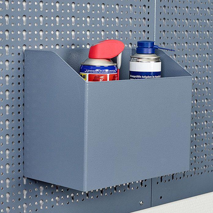 Kupper Aufbewahrungsbox Passend Fur Kupper Stahlblech Lochwand Stahlblech Lochwande Aufbewahrungsbox Stahlblech