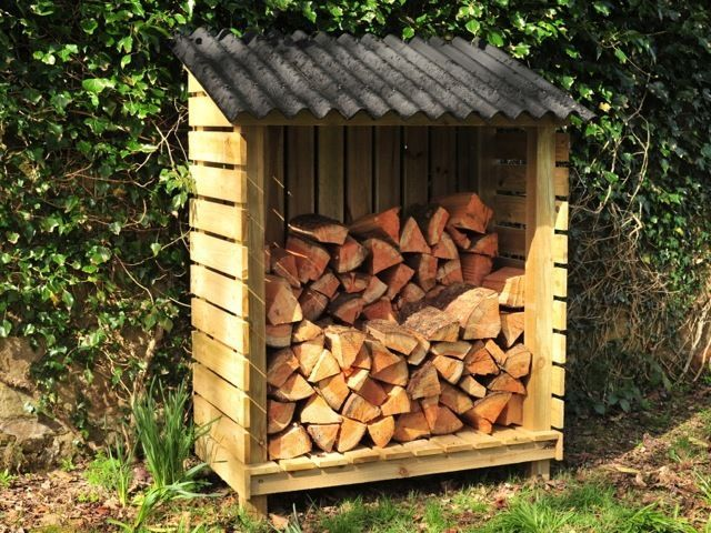 Log Stores, Wood Sheds, High Quality, Hand Made, FSC Timber, Sturdy