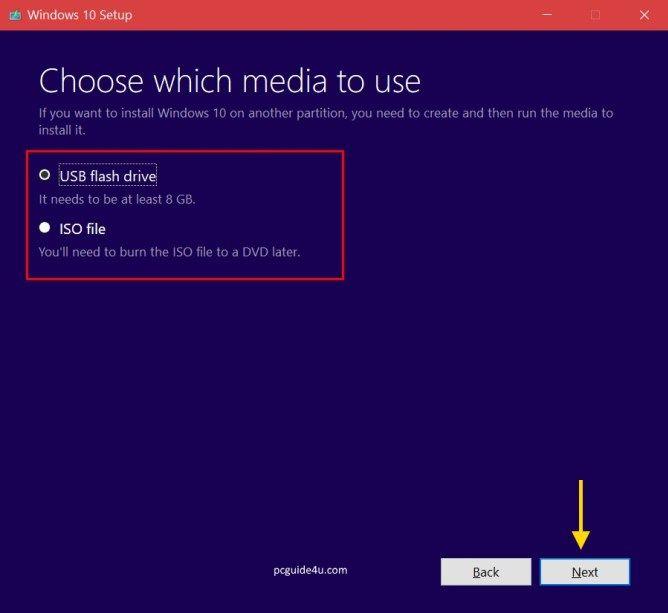 Download Windows 10 Media Creation Tool Create Bootable Usb Windows 10 Windows Usb