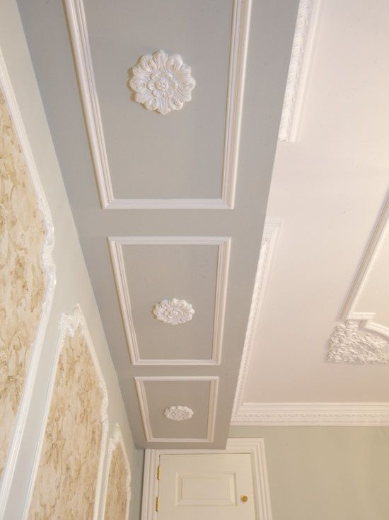 51 best ceiling designs images on pinterest home ideas for Ceiling cornice ideas