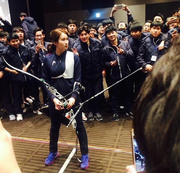 Ki Bo Bae entertains Hyundai employees with a trick shot. Ki Bo Bae: Wikipedia