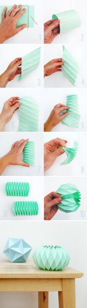 een how to make een origami waxinelichtje via minieco