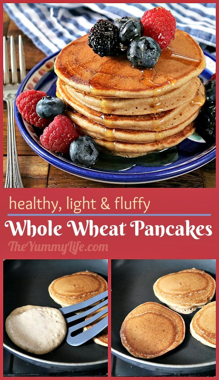Healthy Whole Wheat Buttermilk Pancakes Recipe Whole Wheat Pancakes Buttermilk Pancakes Savoury Cake