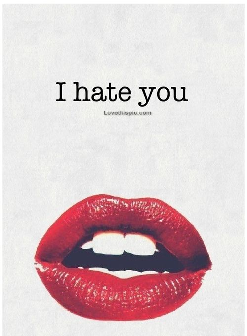 quotes about hate and love relationship