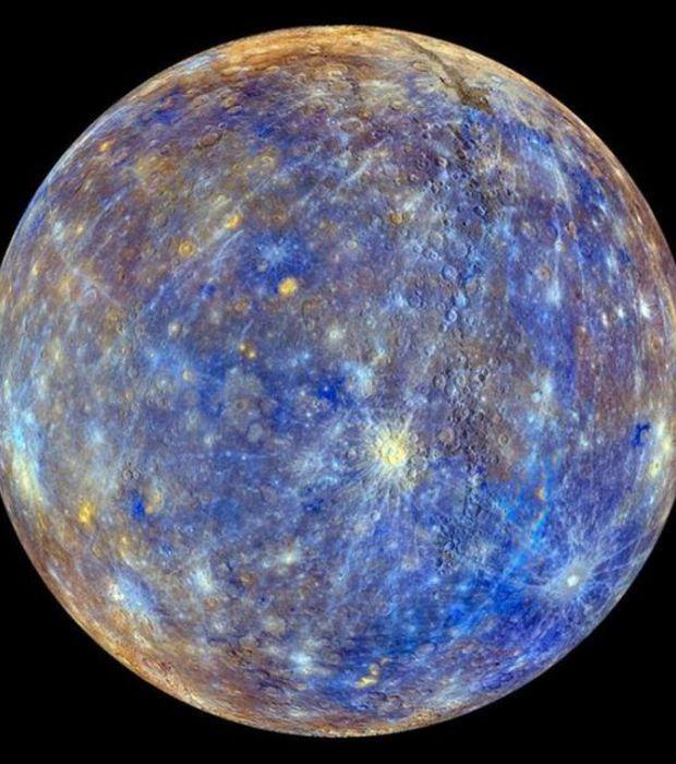 La planète Mercure.