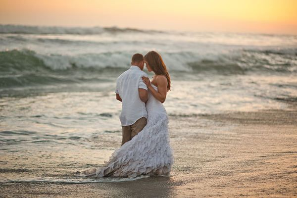 Beach wedding venue in San Diego in city of Oceanside 760 722-1866