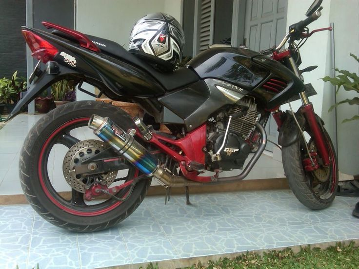 Modif Honda Tiger 2007 2008 Revo Street Fighter