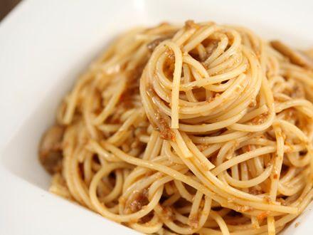 200 gr spagheteSos de ciuperci500 gr ciuperci cham...
