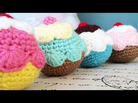 Tutorial: Donas a Crochet - Crochet Donut (English Subtitles) - YouTube