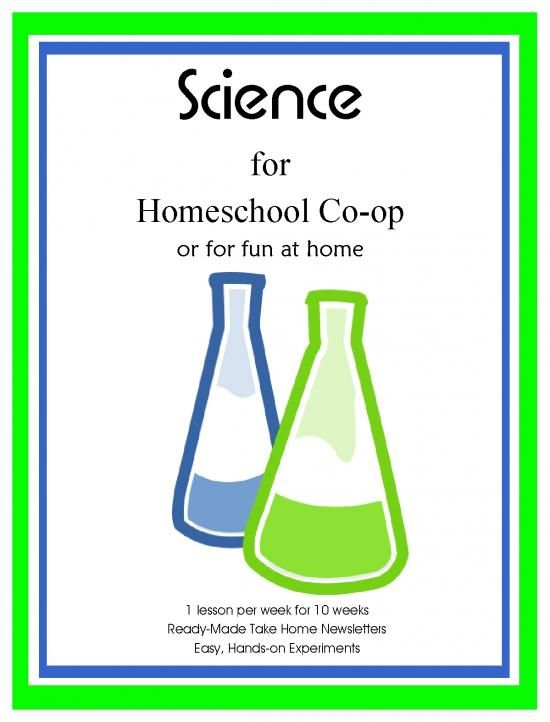 Science for Homeschool Co-op or for fun at home product from Kathy-Hutto on TeachersNotebook.com