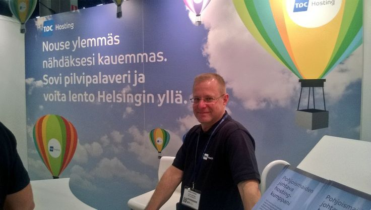 Tunnelmia ICT Exposta / toukokuu 2014 / Messukeskus.