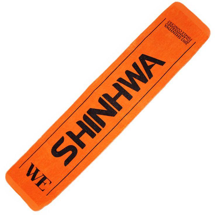 SHINHWA 17th Anniversary Finale Concert  WE SHINHWA Official Goods Slogan Towel