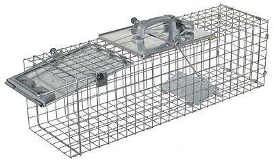 Vintage Traps 71143: Havahart 1084 Easy Set 1Door Cage Trap For Rabbits, Skunks, Minksandlarge Squirrel BUY IT NOW ONLY: $56.42