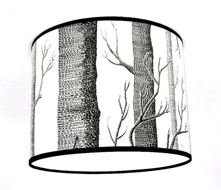 8  Lampshade Handmade in UK - Cole & Son Woods Wallpaper