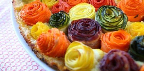 Рецепт-антидепрессант: Овощной пирог «Розы»