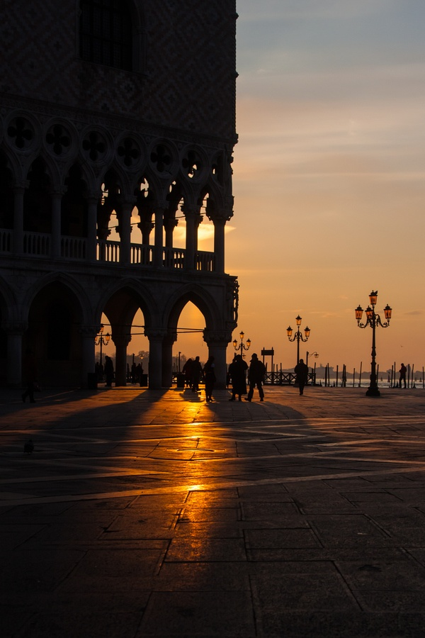 Sunrise in Venice Explore the World with Travel Nerd Nici, one Country at a Time. http://TravelNerdNici.com