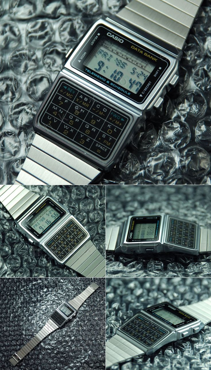 Casio data bank. Accessories