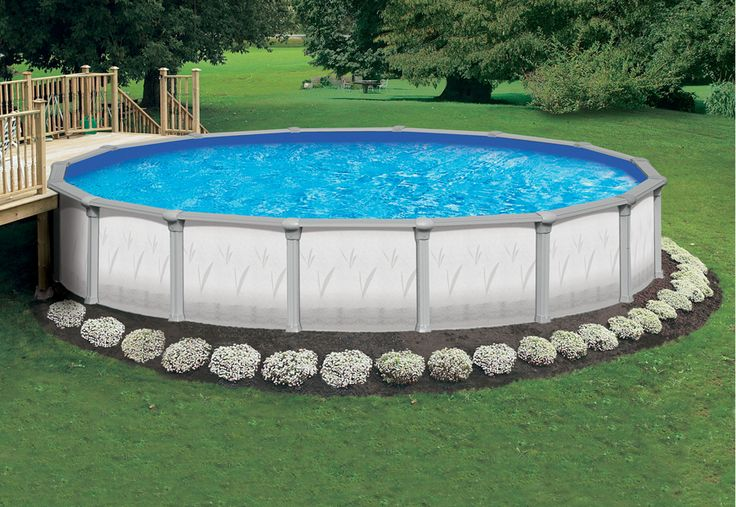 Ideas Above Ground Pool Landscaping: Above Ground Pool Landscape