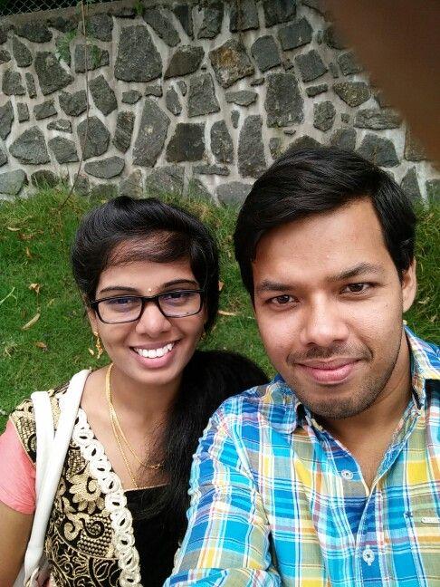 Suahma and me - clockers walk kodaikanal - July 20th 2015