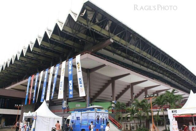Istora Gelora BungKarno The House of Indonesia open