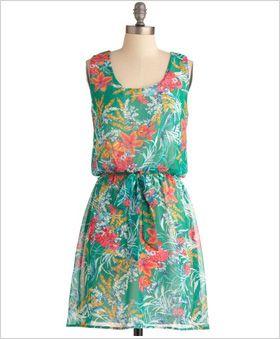 Simple but stylish sundress: Summer Dress, Dream Closet, Clothes, Retro Vintage Dresses, Flowered Sundress, Mod Retro, Modcloth Com, I D Wear