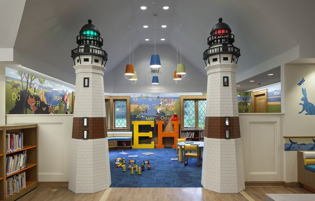 Lighthouses Children S Reading Room At The East Hampton