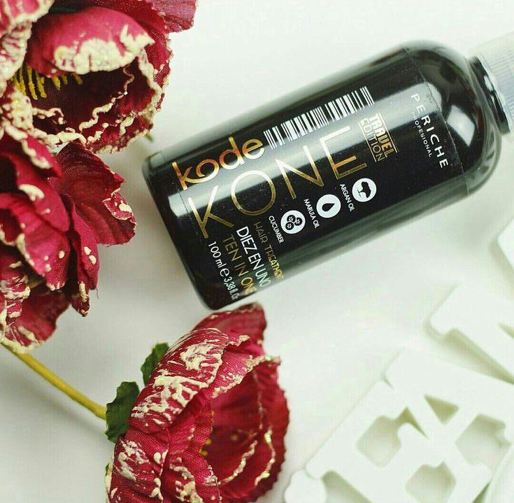 Kone DIEZ EN UNO es la mascarilla sin aclarado que aporta diez efectos esenciales para tu cabello. Con aceite de argán y marula para la renovación y regeneración capilar. ¡Salud para el cabello!