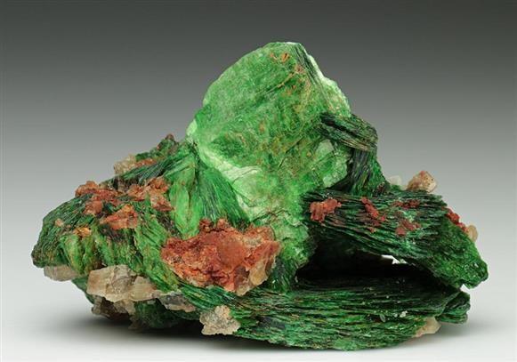 Metatorbernite from Cornwall, England. Crystal Classics Minerals