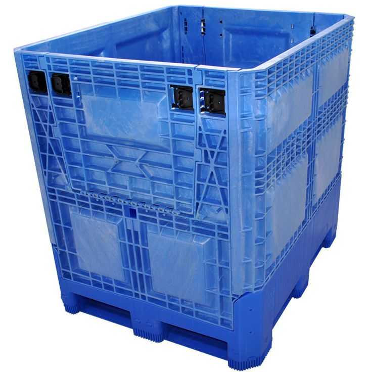 40 x 48 x 46 food grade collapsible bulk container is a