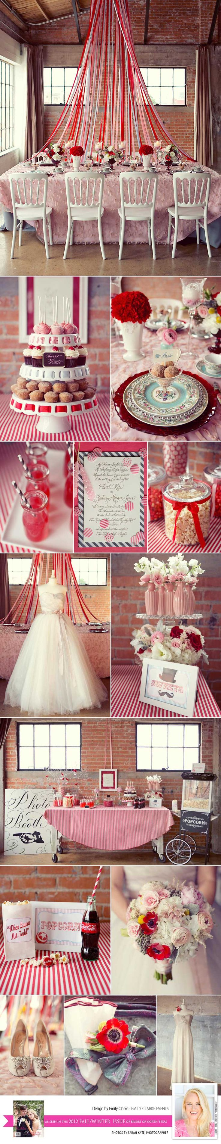 This whimsical design from Emily Clarke Events at Hickory Street Annex has us swooning!