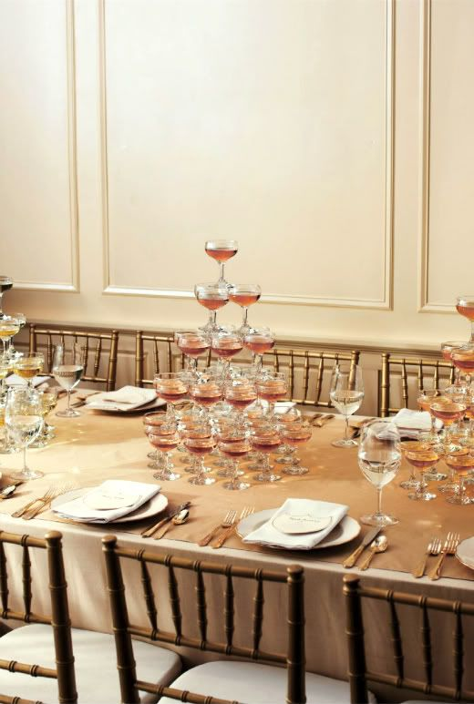 17 Best Ideas About Champagne Centerpiece On Pinterest
