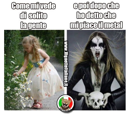 La ragazza metal  (www.VignetteItaliane.it)