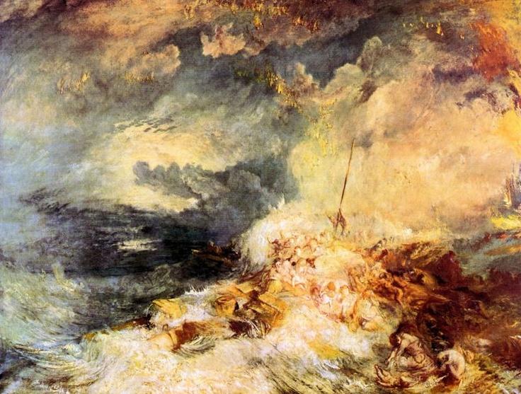 Fire at sea JMW Turner