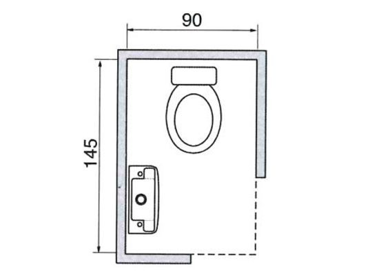 Plus de 30 plans de wc ind pendants ou dans la salle de Plan de toilette salle de bain