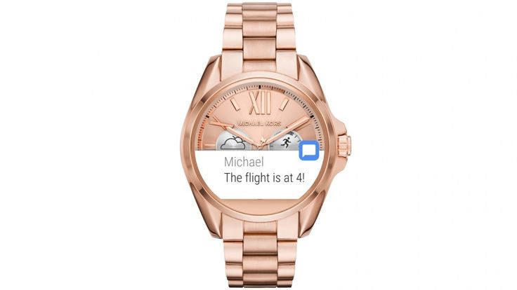 Michael Kors Access Ladies Bradshaw Smartwatch - Rose Gold