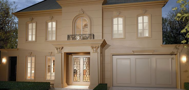 Villa home designs sydney for Classic home designs sydney