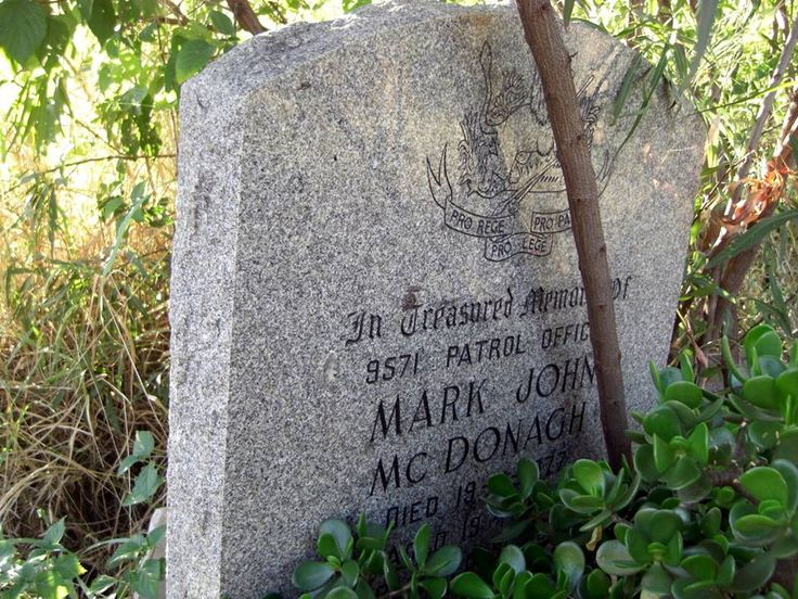 Mark McDonagh was a classmate at CBC in Bulawayo - if I recall correctly he was the first of our classmates to lose his life in the Rhodesian Bush War