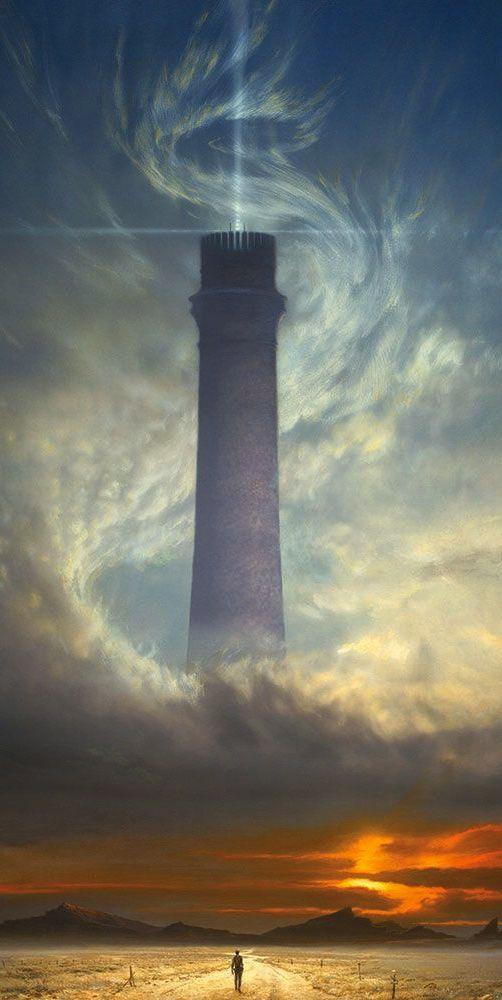 The Dark Tower - Michael Whelan  (don't break the beams, dammit!)                                                                                                                                                      More