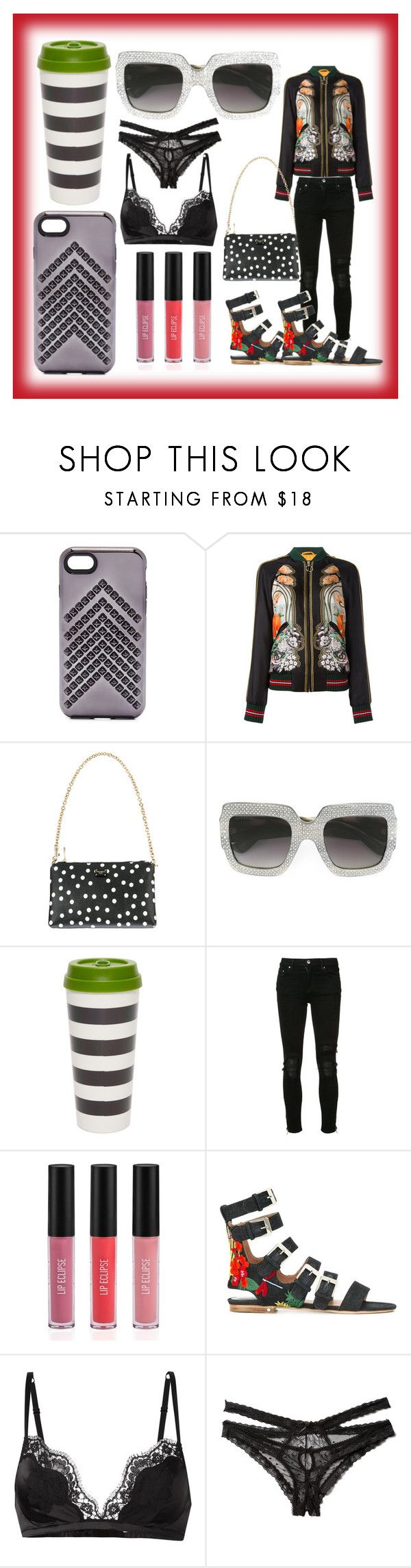 """""""best sale offer"""" by denisee-denisee ❤ liked on Polyvore featuring Rebecca Minkoff, Gucci, Dolce&Gabbana, Kate Spade, AMIRI, Sigma, Laurence Dacade, Honeydew Intimates and vintage"""