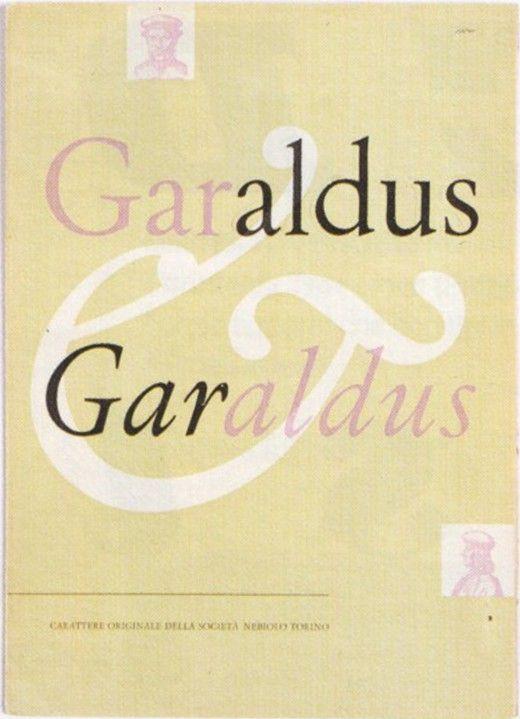 Aldo Novarese, Garaldus, Cover, 1956-1960