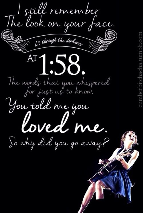 Today, I'm going to post nothing but Last Kiss related things on my T-Swizzle board sense it's July 9th and I'm having major feels!