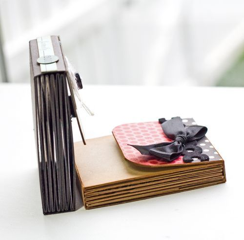 super cute and great tutorial for making mini book by @Lisa Johnson