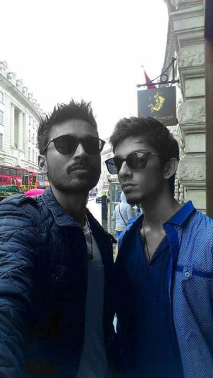 Anirudh, Dhanush #Kollywood #Fashion