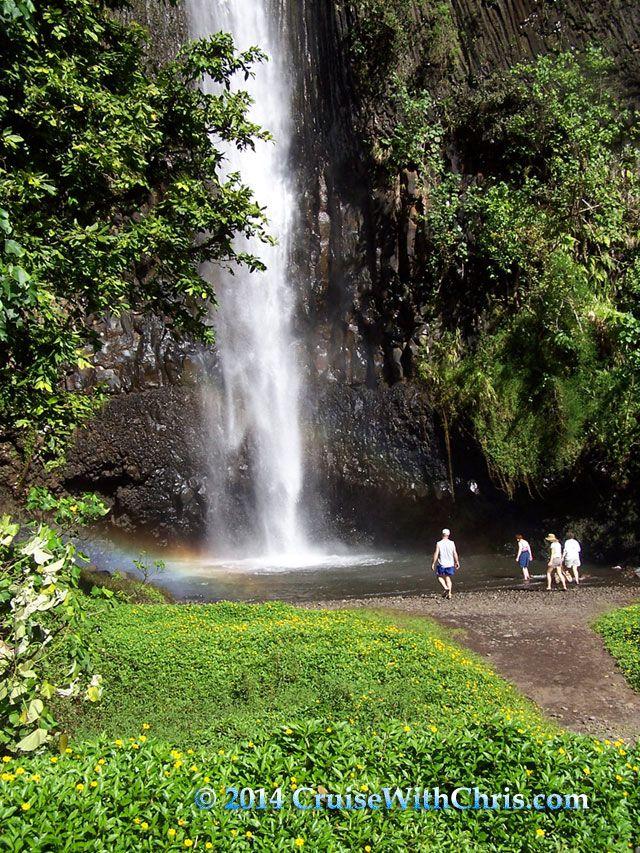 Fautaua Waterfall Papette #Tahiti | Awesome Views ...